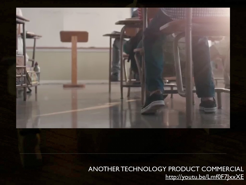 ANOTHER TECHNOLOGY PRODUCT COMMERCIAL http://yo...