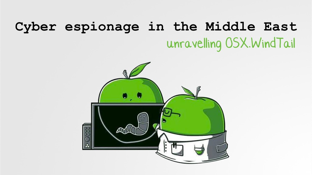 Cyber espionage in the Middle East unravelling ...