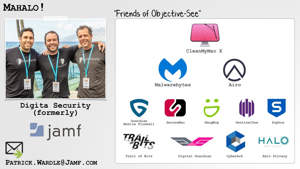 """MAHALO! Digita Security (formerly) """"Friends of ..."""