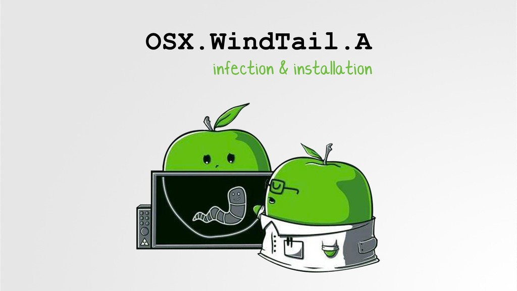 OSX.WindTail.A infection & installation