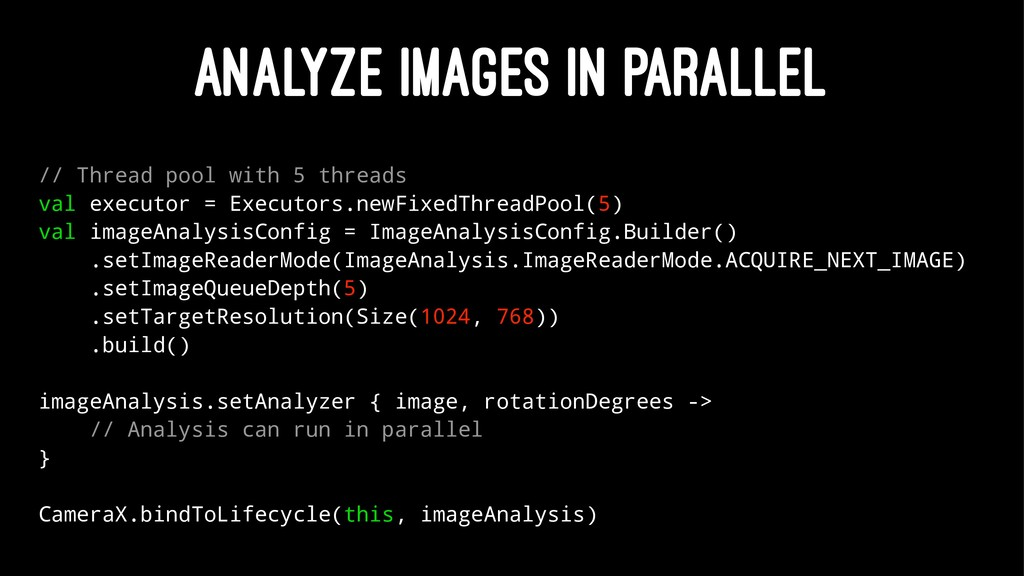 ANALYZE IMAGES IN PARALLEL // Thread pool with ...