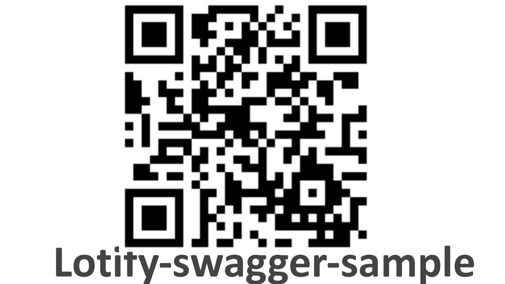 Lotify-swagger-sample