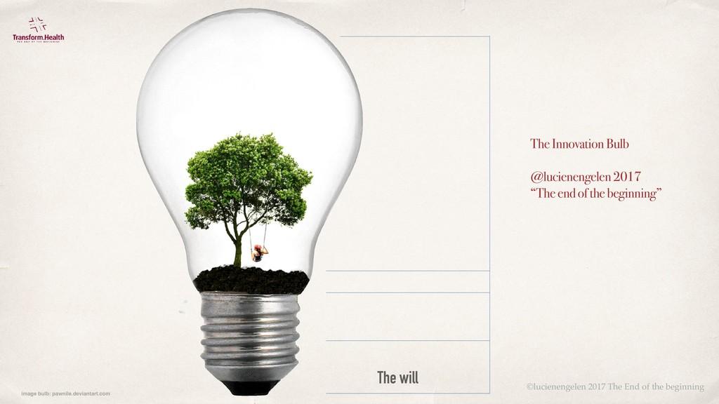 The will The Innovation Bulb @lucienengelen 201...
