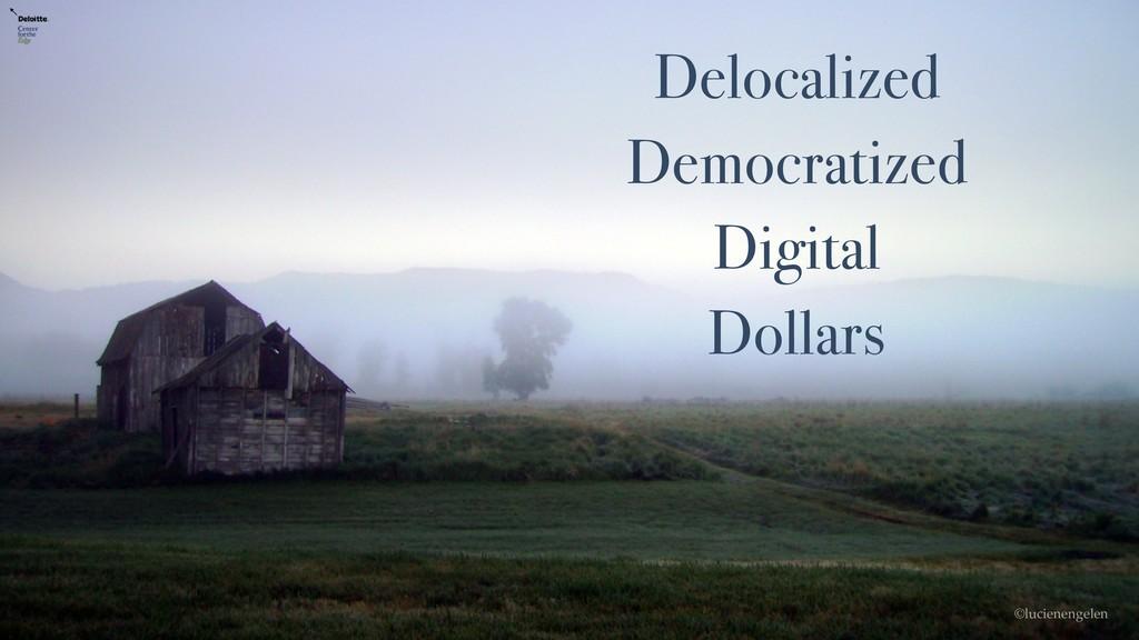 Delocalized Democratized Digital Dollars ©lucie...