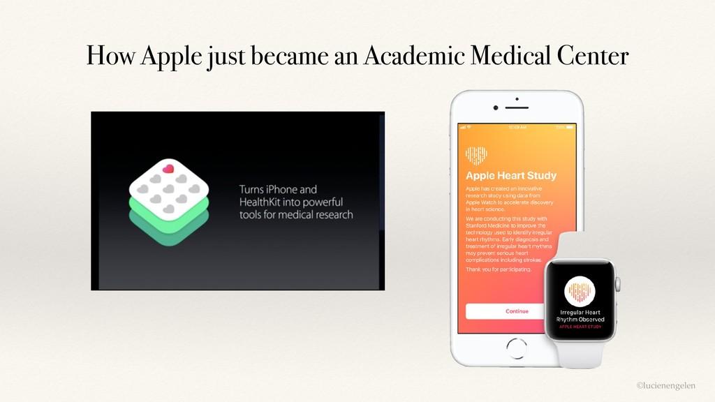 ©lucienengelen How Apple just became an Academi...