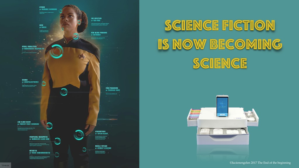 Science fiction Is now becoming Science ©lucien...