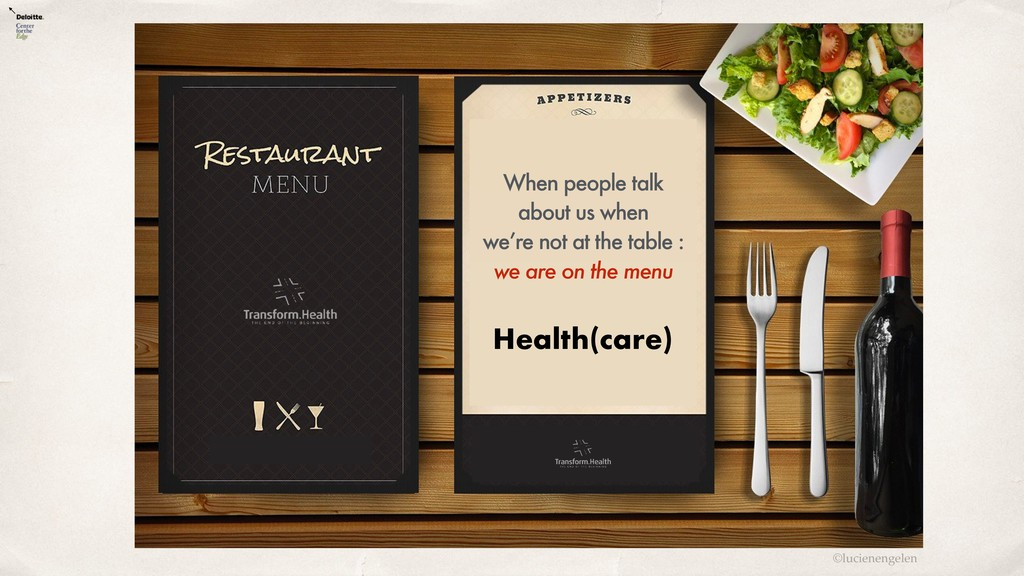 ©lucienengelen Health(care) When people talk ab...