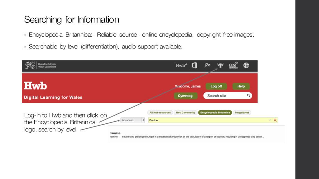 Searching for Information • Encyclopedia Britan...