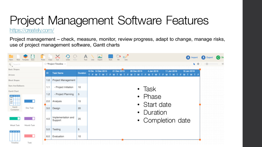Project Management Software Features https://cr...