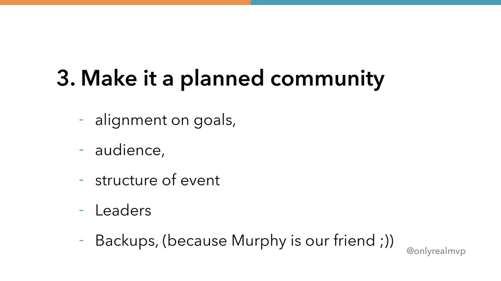 @onlyrealmvp 3. Make it a planned community - a...
