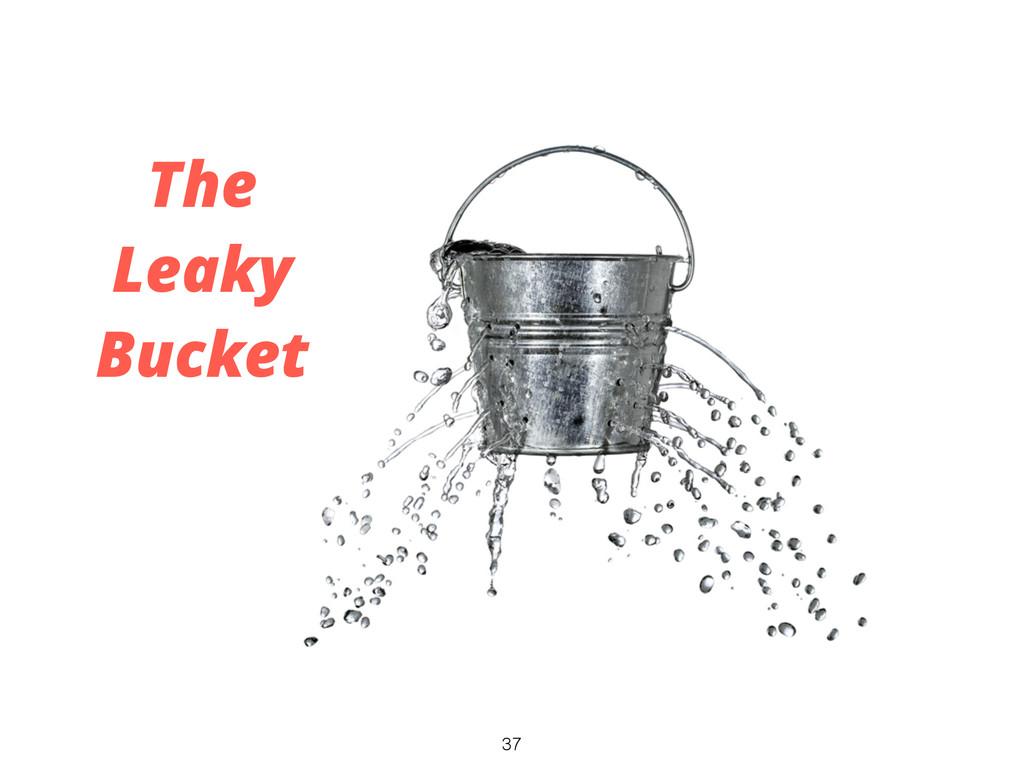 37 The Leaky Bucket