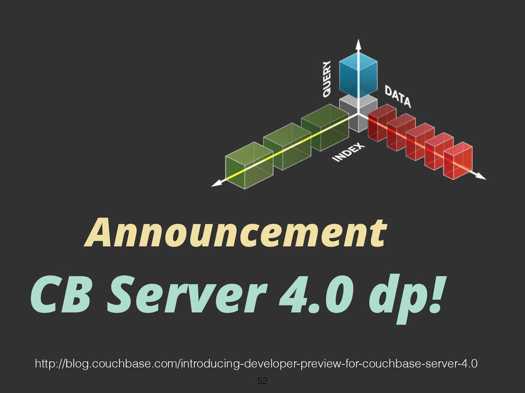 Announcement CB Server 4.0 dp! 52 http://blog.c...