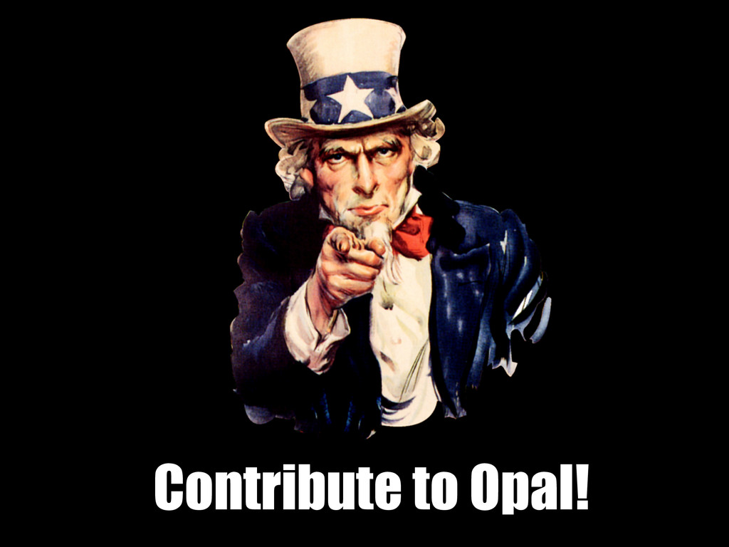 Contribute to Opal!