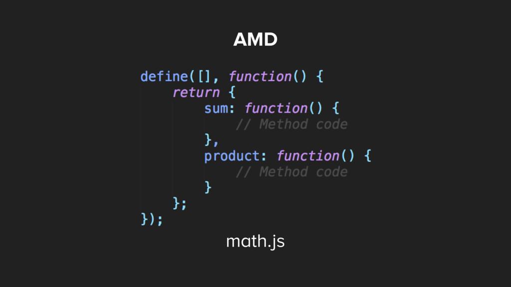 AMD math.js
