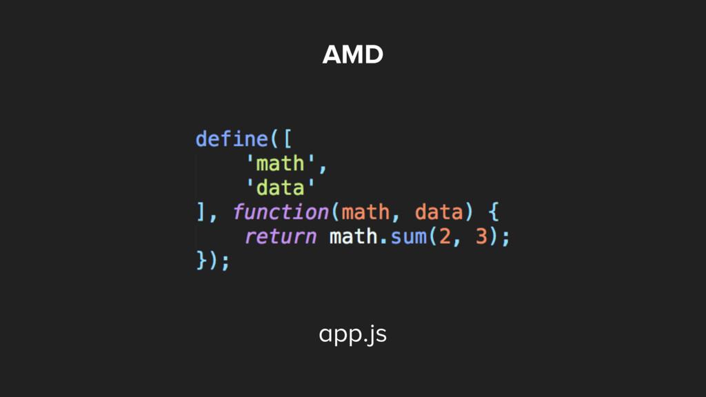 AMD app.js