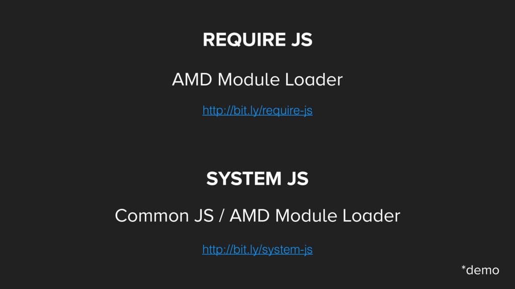 REQUIRE JS AMD Module Loader http://bit.ly/requ...