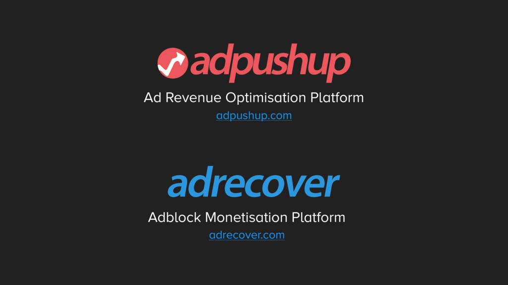 Ad Revenue Optimisation Platform adpushup.com A...