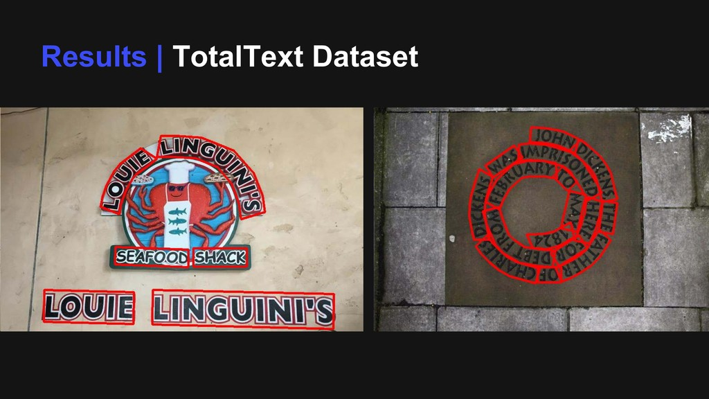 Results | TotalText Dataset