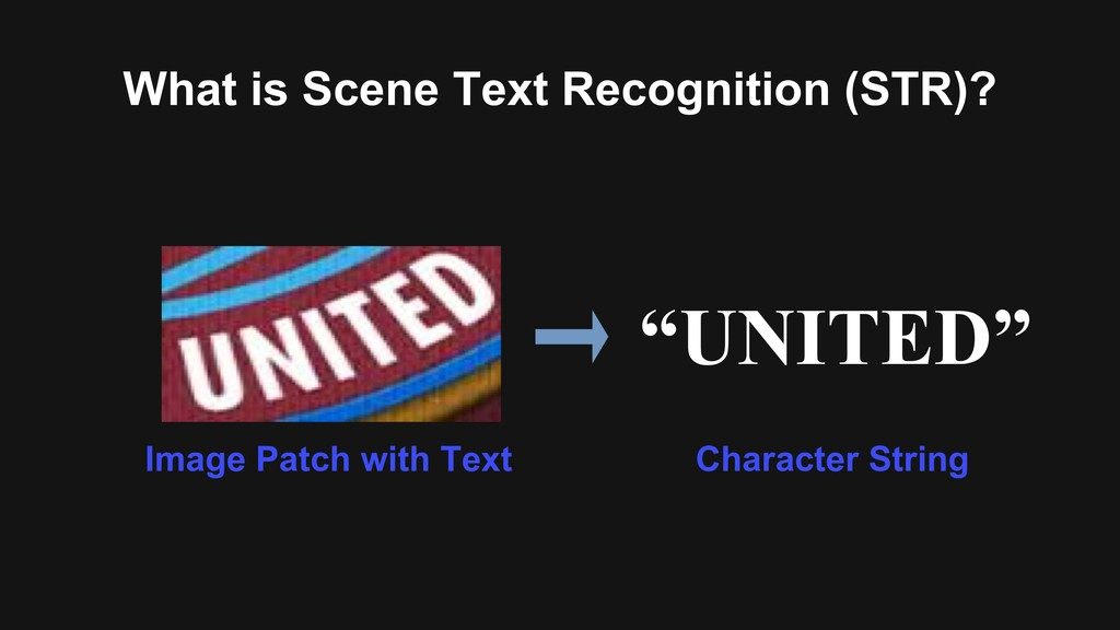 """""""UNITED"""" Image Patch with Text What is Scene Te..."""