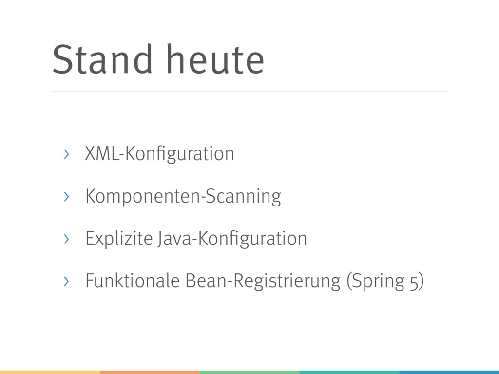 Stand heute > XML-Konfiguration > Komponenten-S...