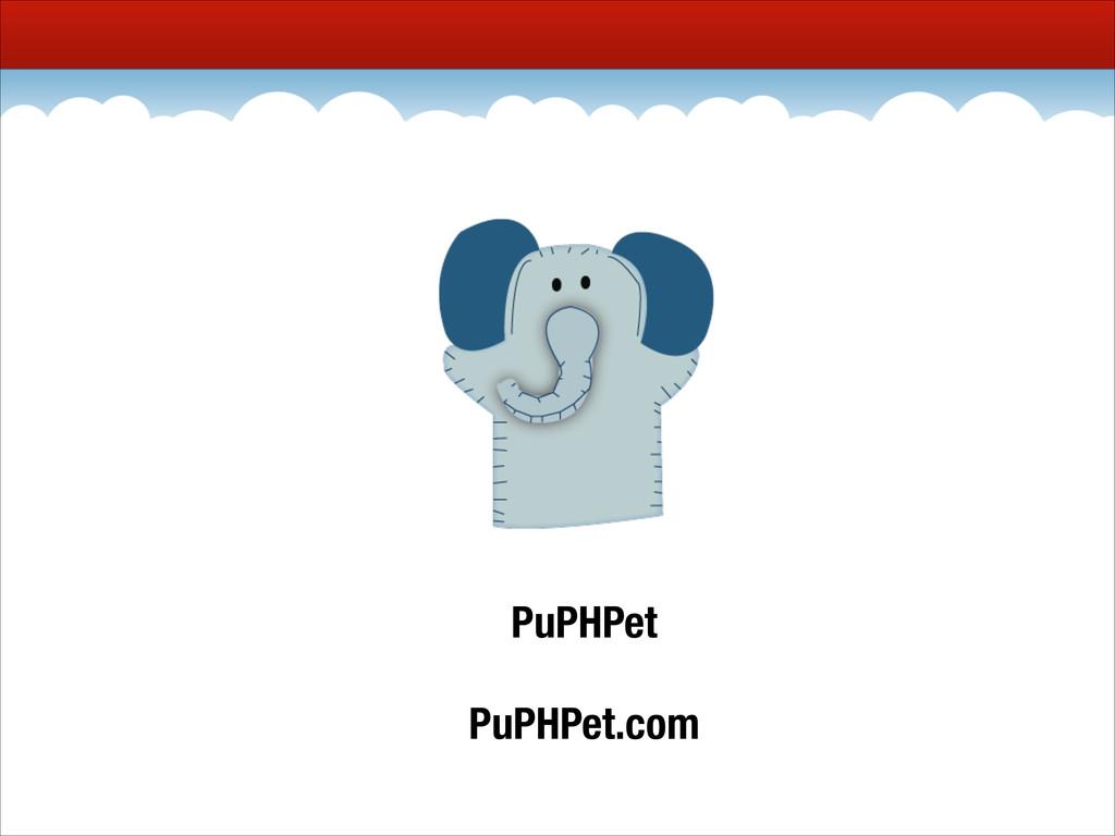 PuPHPet PuPHPet.com