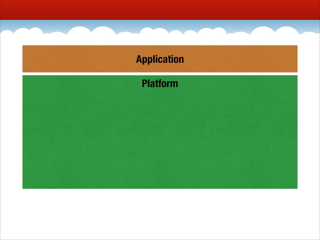 Platform Application