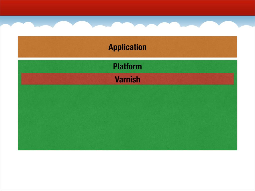 Platform Varnish Application
