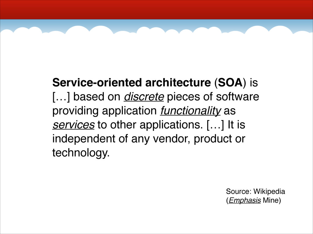 Service-oriented architecture (SOA) is […] base...