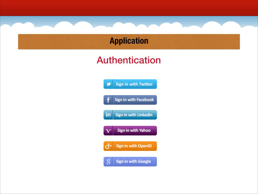 Application Authentication