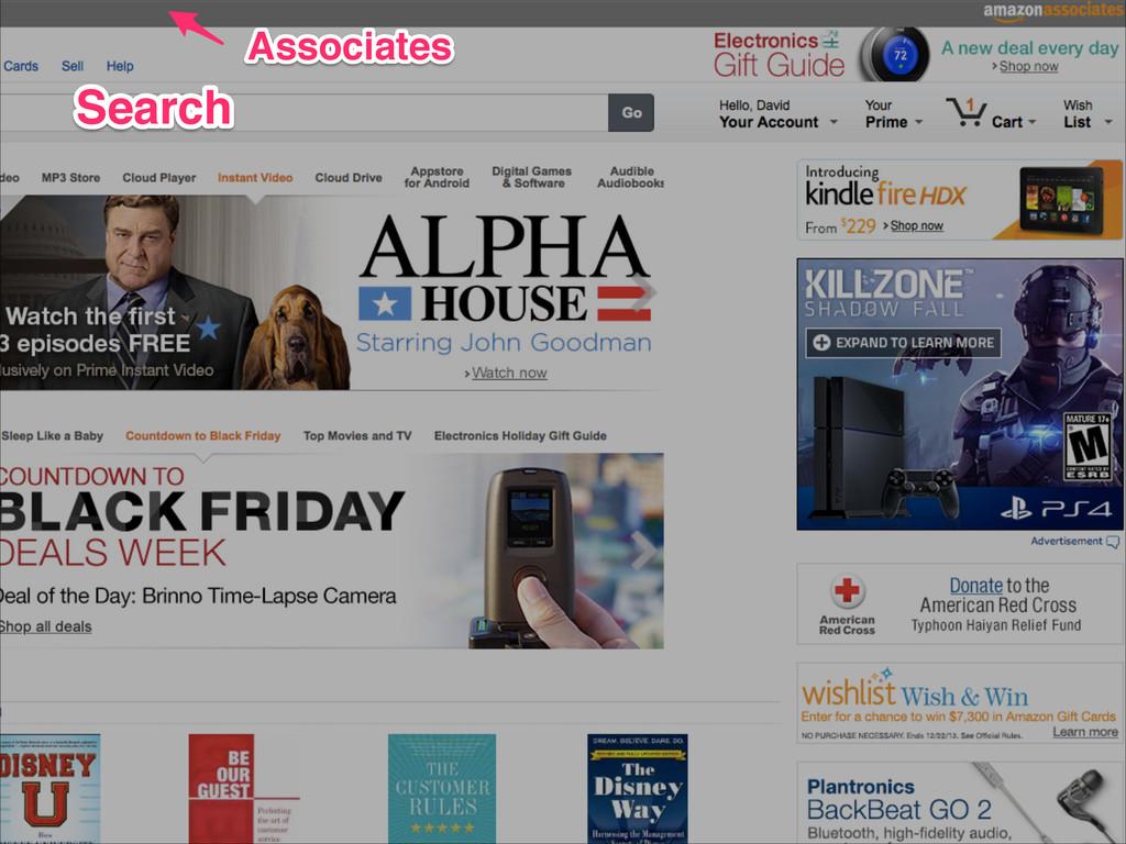 Associates Associates Search Search