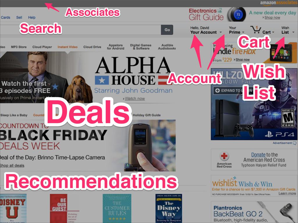 Associates Associates Search Search Deals Deals...