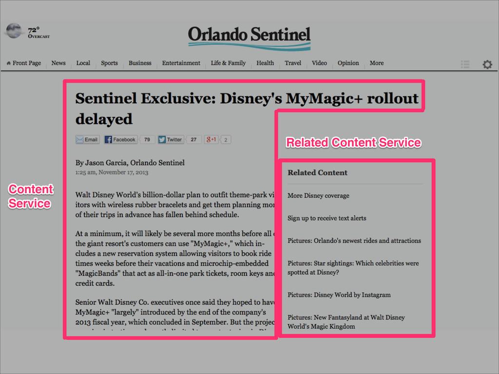 Related Content Service Related Content Service...