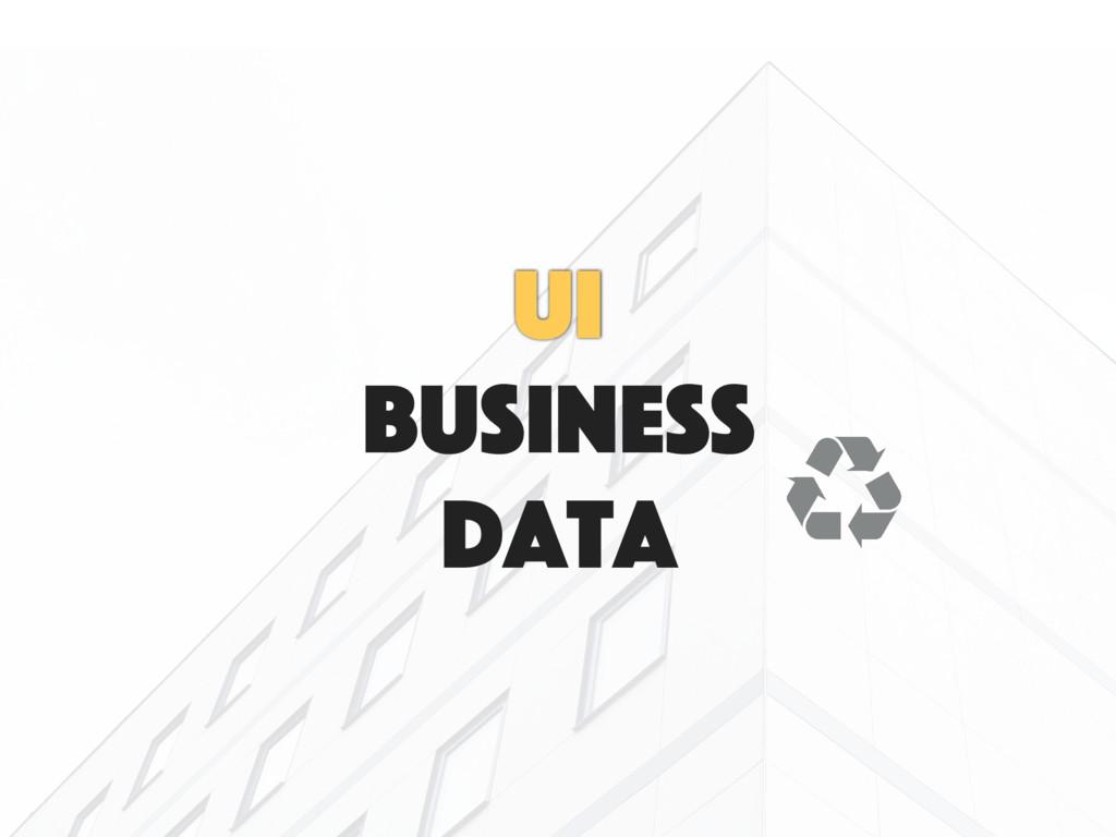 data business UI 㿃