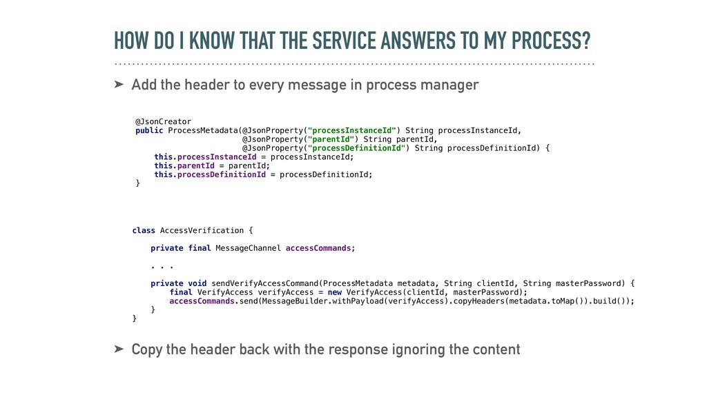HOW DO I KNOW THAT THE SERVICE ANSWERS TO MY PR...