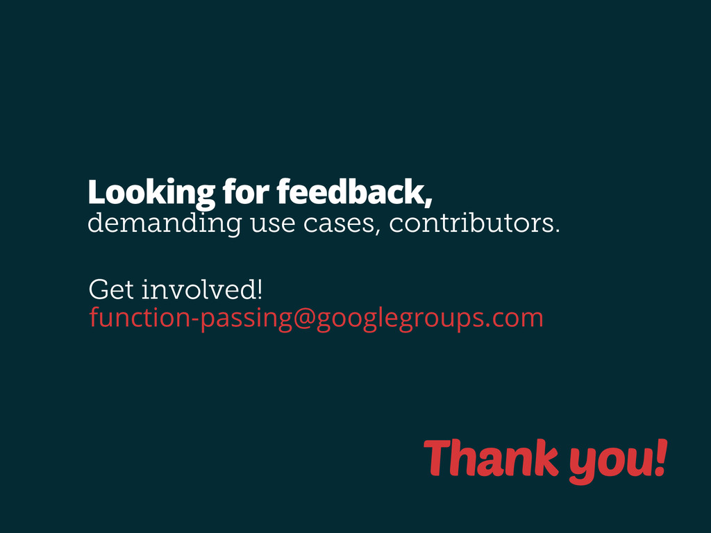 function-passing@googlegroups.com Looking for f...