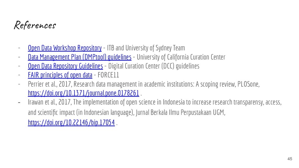 References - Open Data Workshop Repository - IT...