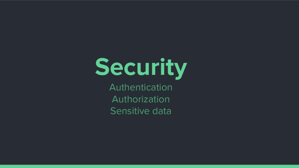 Security Authentication Authorization Sensitive...