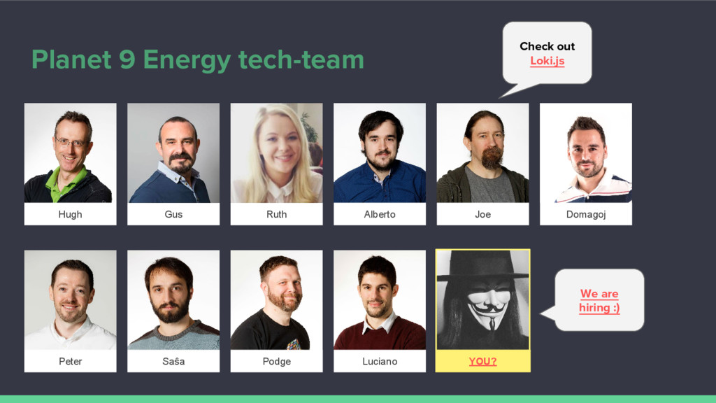 Planet 9 Energy tech-team We are hiring :) Pete...