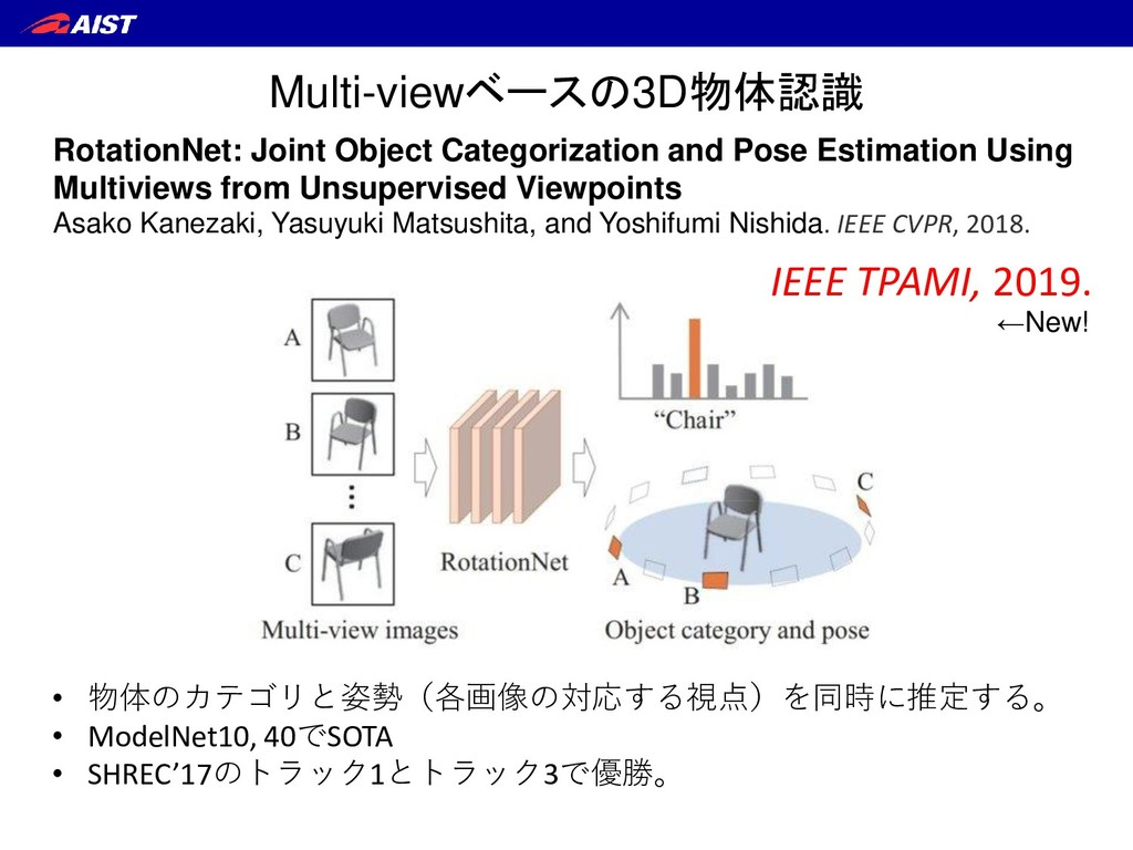 RotationNet: Joint Object Categorization and Po...