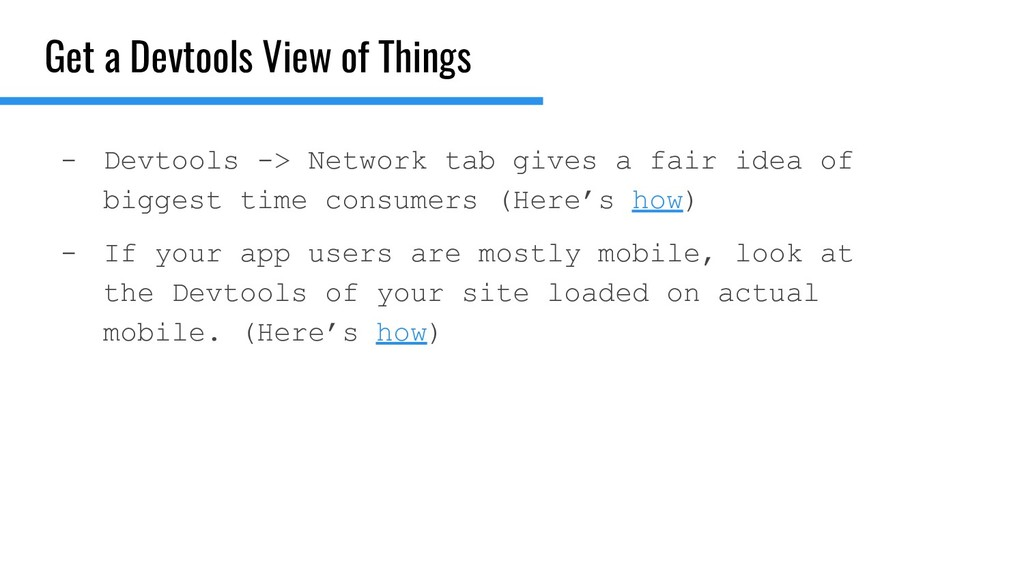 Get a Devtools View of Things - Devtools -> Net...