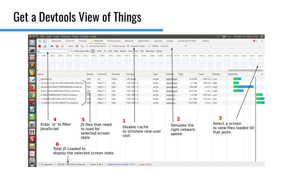 Get a Devtools View of Things