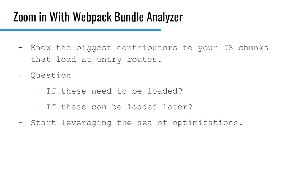 Zoom in With Webpack Bundle Analyzer - Know the...