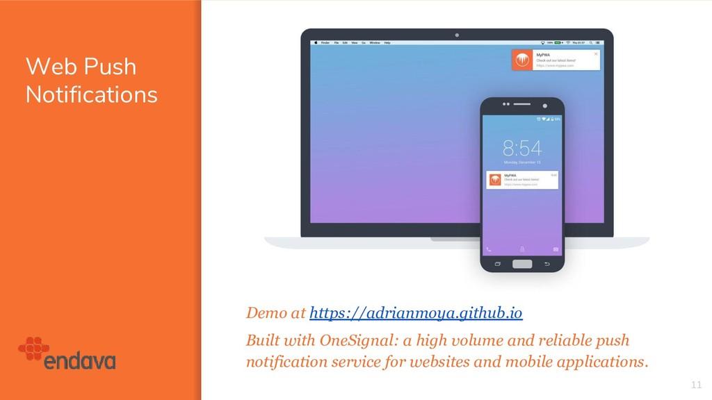 Web Push Notifications 11 Demo at https://adria...
