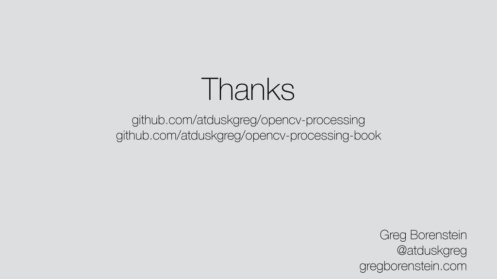 Thanks Greg Borenstein @atduskgreg gregborenste...