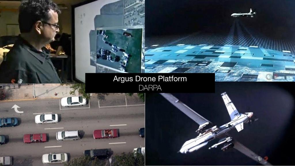 Argus Drone Platform  DARPA
