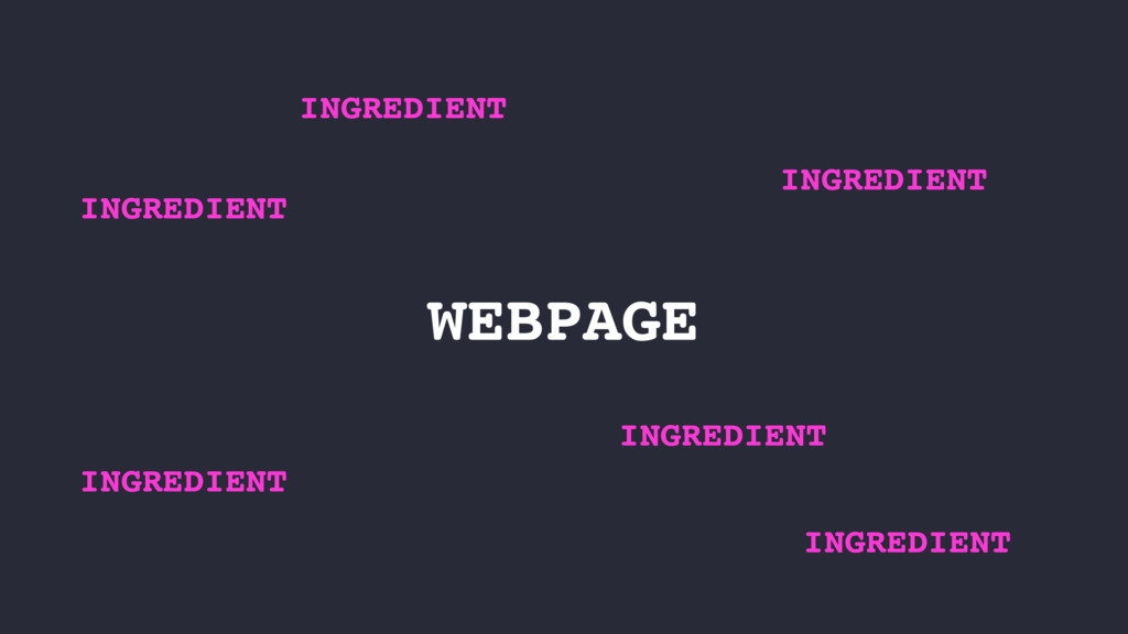 WEBPAGE INGREDIENT INGREDIENT INGREDIENT INGRED...