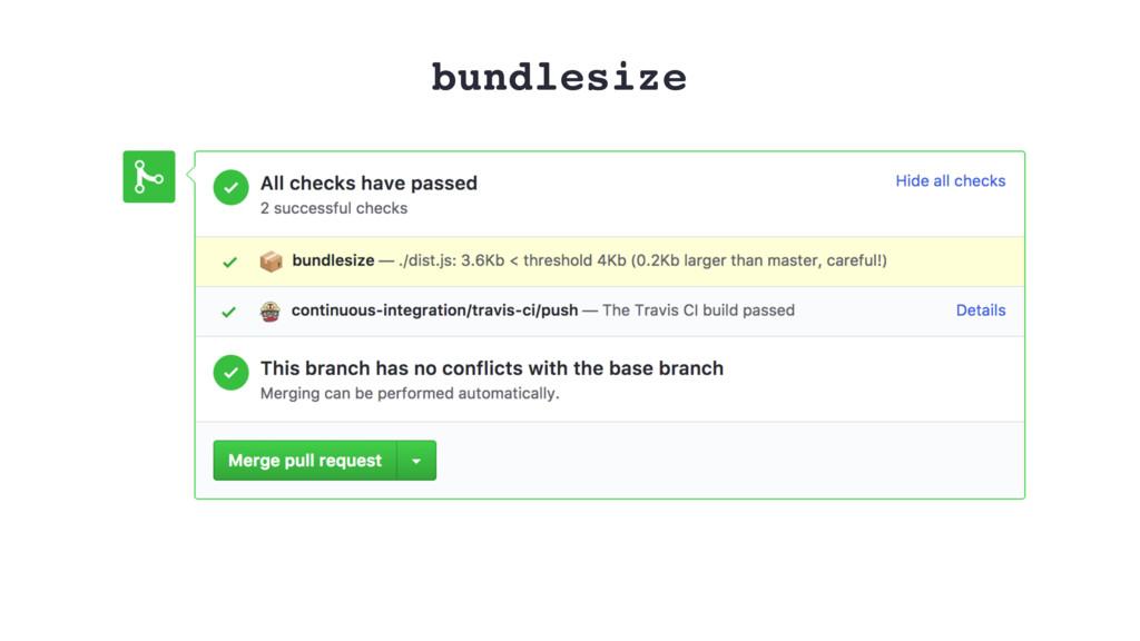 bundlesize