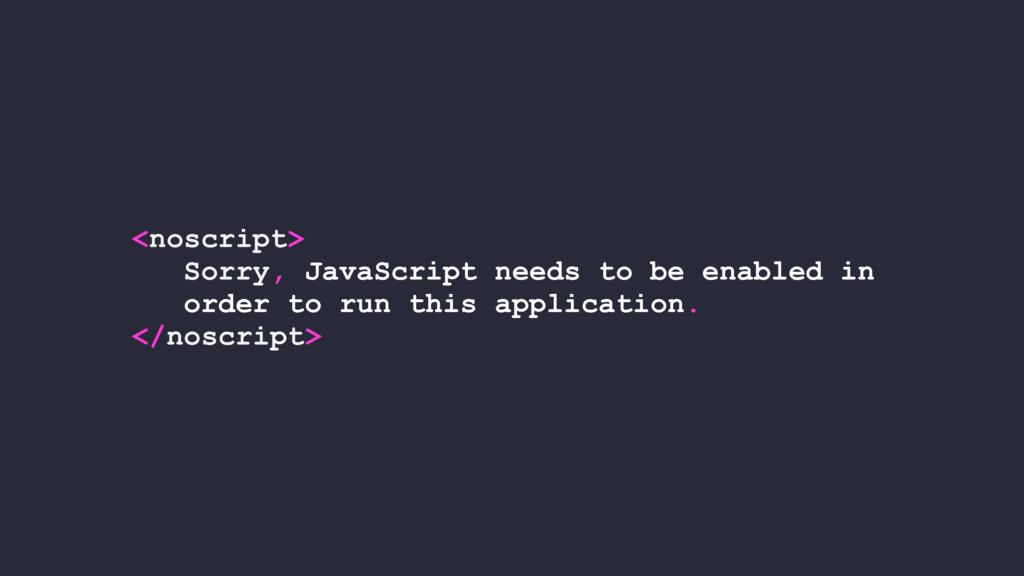 <noscript> Sorry, JavaScript needs to be enable...
