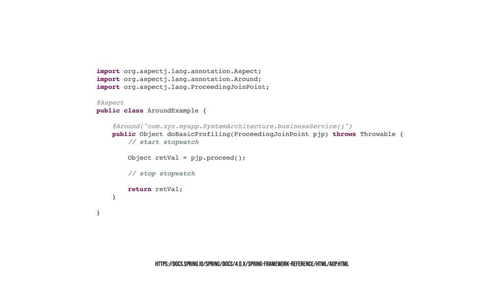 import org.aspectj.lang.annotation.Aspect; impo...