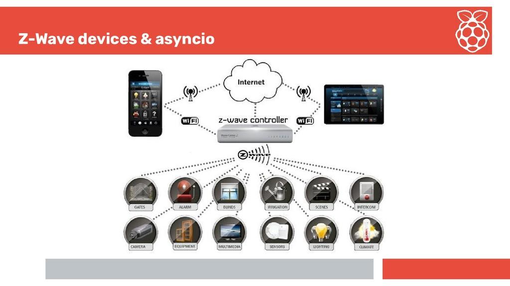 Z-Wave devices & asyncio